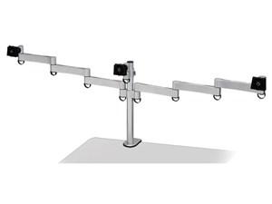 センチュリー 2軸×1 5軸×2 3面モニターアーム CEN-BM300-SV