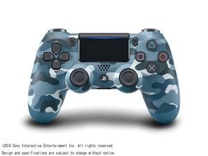 SONY ワイヤレスコントローラ DUALSHOCK4 ブルー・カモフラージュ CUH-ZCT2J2・・・