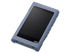 ソニー NW-A50シリーズ専用 シリコンケース(ブルー) CKM-NWA50-L
