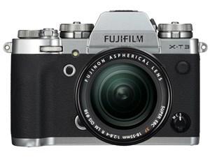 FUJIFILM X-T3 レンズキット [シルバー]