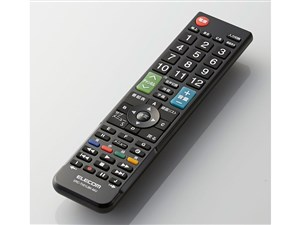 エレコム かんたんTVリモコン/12メーカー対応/ブラック ERC-TV01LBK-MU