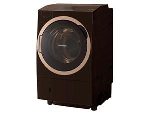 【大型】TW-127X7L-T 東芝 ドラム式洗濯乾燥機 左開き 12kg ZABOON グレイン・・・