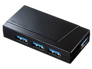 サンワサプライ USB-3H417BK USB3.1 Gen1 4ポートハブ