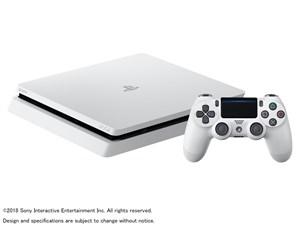 SONY プレイステーション4 500GB グレイシャー・ホワイト CUH-2200AB02 商品画像1:オンラインショップ エクセラー