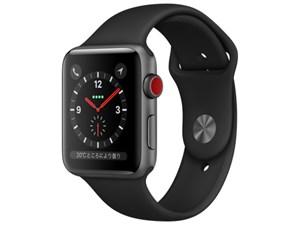 Apple Watch Series 3 GPS+Cellularモデル 42mm MTH22J/A [ブラックスポーツ・・・