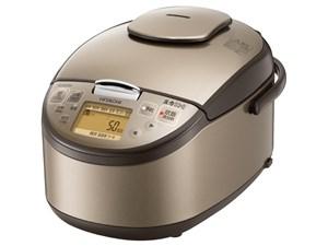 日立 HITACHI 圧力IH炊飯ジャー 極上炊き分け 5.5合炊き ライトブラウン RZ-B・・・