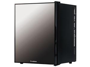 エスキュービズム S-cubism 40L 1ドア冷蔵庫 ペルチェ式 ミラーガラス冷蔵庫 ・・・