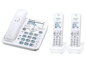 パナソニック RU・RU・RU コードレス電話機 (子機2台付き) (ホワイト) VE-GD5・・・