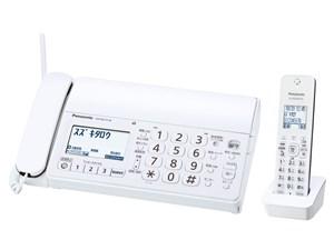 パナソニック デジタルコードレス普通紙ファクス(子機1台付き)ホワイト KX-PD・・・