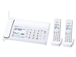 KX-PD215DW-W パナソニック デジタルコードレス普通紙ファクス 子機2台付き K・・・