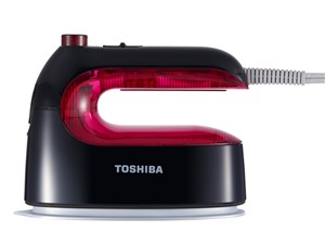 東芝 TOSHIBA コード式衣類スチーマー ピンク TAS-M3-P