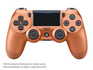 SONY ワイヤレスコントローラ DUALSHOCK4 カッパー CUH-ZCT2J24