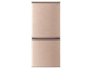 シャープ SHARP 冷蔵庫 一人暮らし 137L 幅48.0cm つけかえどっちもドア 2ド・・・