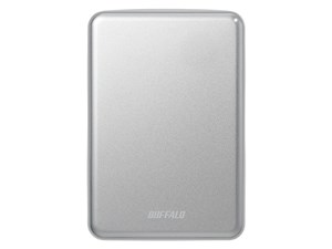 BUFFALO製PortableHD HD-PUS2.0U3-SVD シルバー 2.0TB