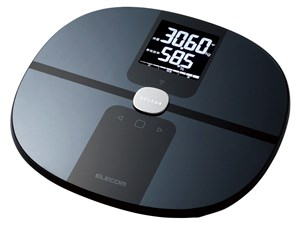エレコム ELECOM 体重・体組成計 エクリア Wifi接続対応 ブラック HCS-WFS01B・・・