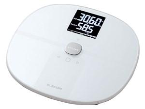 エレコム 体重・体組成計 スマホアプリ連動 Wi-Fi接続 50g単位 乗るだけ 面倒・・・