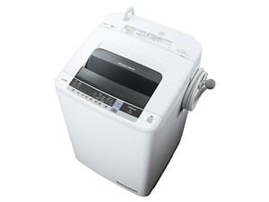 NW-80C-W 全自動洗濯機 8kg 白い約束 日立 ピュアホワイト