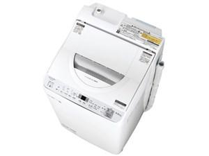 ES-TX5C-S タテ型洗濯乾燥機 5.5kg シャープ 穴なし槽 シルバー系