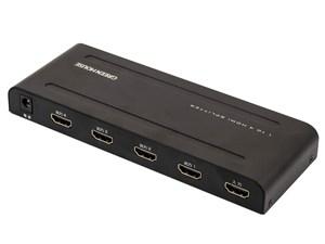 グリーンハウス HDMIスプリッター GH-HSPF4-BK