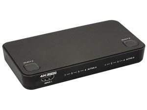 ラトックシステム 4K対応 4入力2出力HDMIマトリックススイッチ RS-HDSW42-4K
