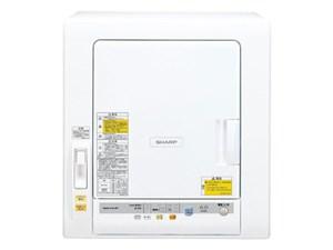 シャープ【SHARP】乾燥容量6.0kg 衣類乾燥機 ホワイト系 KD-60C-W★【KD60CW・・・