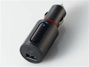 エレコム Bluetooth(R)FMトランスミッター(2.4A/1ポート) LAT-FMBT02BK