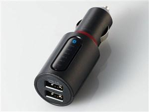 エレコム Bluetooth(R)FMトランスミッター(2.4A/2ポート) LAT-FMBT03BK