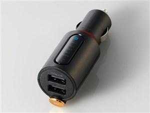 エレコム Bluetooth(R)FMトランスミッター(2.4A/2ポート/重低音) LAT-FMBTB03・・・