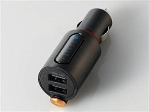 エレコム Bluetooth(R)FMトランスミッター(3.4A/2ポート/重低音) LAT-FMBTB04・・・