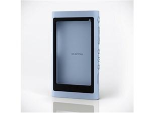 エレコム Walkman A 2018 NW-A50シリーズ対応シリコンケース/ブルー AVS-A18S・・・