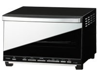 ツインバード【TWINBIRD】ミラーガラスオーブントースター ブラック TS-D058B・・・