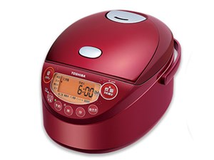 東芝 TOSHIBA IHジャー炊飯器 3.5合炊き グランレッド RC-6XM-R