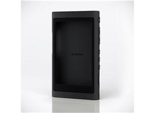 エレコム Walkman A 2018 NW-A50シリーズ対応シリコンケース/ブラック AVS-A1・・・