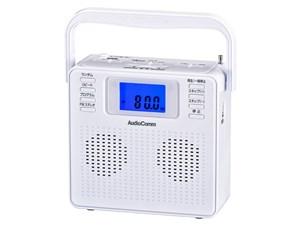 オーム電機 ステレオCDラジオ(ホワイト) RCR-500Z-W