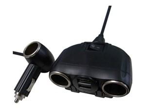 MotionTech シガーソケット 2連+1 MT-MCS02