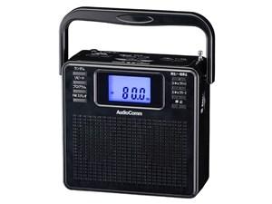 オーム電機 ステレオCDラジオ(ブラック) RCR-500Z-K