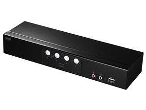 サンワサプライ HDMI切替器(2入力・1出力) SW-KVM4HHC