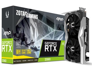 ZOTAC GAMING GeForce RTX 2060 AMP Edition ZT-T20600D-10M [PCIExp 6GB]