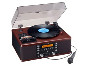 TEAC ターンテーブル/カセットプレーヤー付CDレコーダー LP-R560K