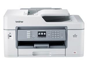 ブラザー プリンター A3 FAX ADF 有線・無線LAN 1段トレイ 両面印刷 インクジ・・・
