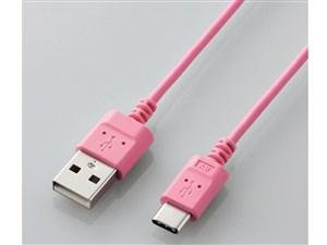 エレコム タイプC 充電 通信 ケーブル USB (A-C) 認証品 1.2m ピンク MPA-ACX・・・