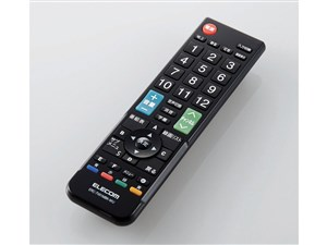 エレコム かんたんTV用リモコン(12メーカー マルチリモコン Mサイズ) ERC-TV0・・・