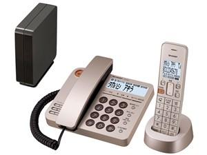 シャープ デジタルコードレス電話機 子機1台付き JD-XG1CL-N [シャンパン・・・