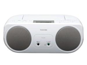東芝 CDラジオ シルバー TY-C151-S