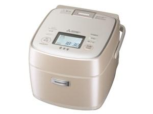 三菱電機 MITSUBISHI IHジャー炊飯器 3.5合炊き 本炭釜 炊飯器 一人暮らし 白・・・