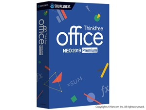 ソースネクスト Thinkfree office NEO 2019 Premium 258200