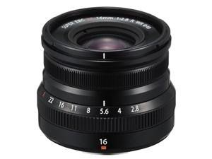 フジノンレンズ XF16mmF2.8 R WR [ブラック]
