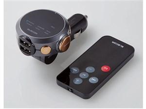 エレコム エレコム FMトランスミッター Bluetooth 高音質 24V リモコン付 USB・・・