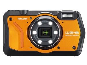 RICOH WG-6 [オレンジ]  SDHCカード8GB付き