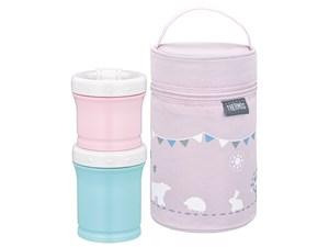 サーモス 保冷ポーチ付き離乳食ケース 手作り離乳食を持ち運びできます。 NPE・・・